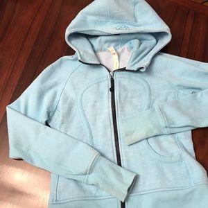 Robin Egg Blue Lululemon Scuba Hoodie Sweatshirt